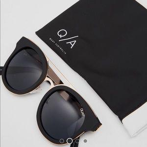 Brand new never worn Quay sunglasses
